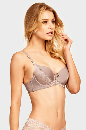 Load image into Gallery viewer, MAMIA LADIES FULL CUP PLAIN LACE BRA (BR4286PL1)