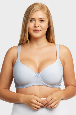 MAMIA LADIES FULL CUP PLAIN LACE DD CUP BRA (BR4343PLDD) - BOX ONLY