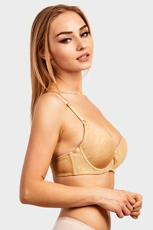 ET TU LADIES FULL CUP JACQUARD BRA (BR4352JE) - BOX ONLY