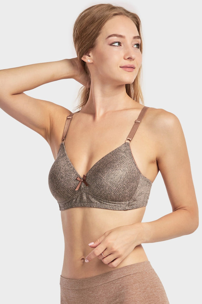 SOFRA LADIES FULL CUP NO WIRE BRA (BR4363N) - BOX ONLY