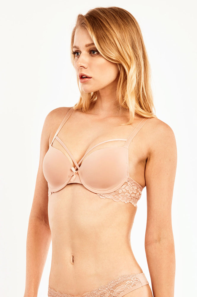 Load image into Gallery viewer, MOPAS LADIES PULL CUP PLAIN LACE BRA (BR6145PL)