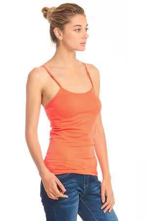 SOFRA LADIES CAMISOLE W/ EMBROIDERY (CM102)