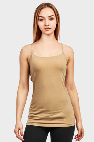 MOPAS LADIES COTTON CAMISOLE (CM400)