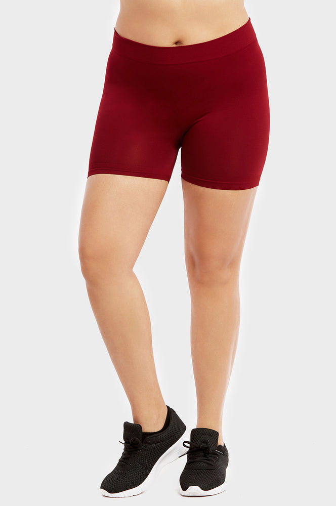 "SOFRA LADIES POLYESTER 12"" LEGGINGS PLUS SIZE (EX903X)"