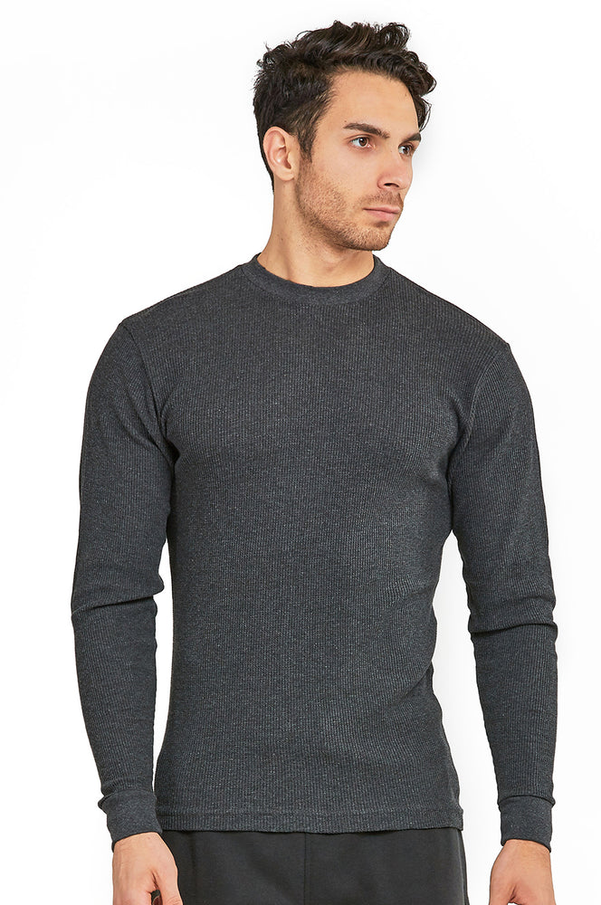 Load image into Gallery viewer, COTTONBELL MEN'S HEAVY THERMAL (KHT001C_CH-GR)