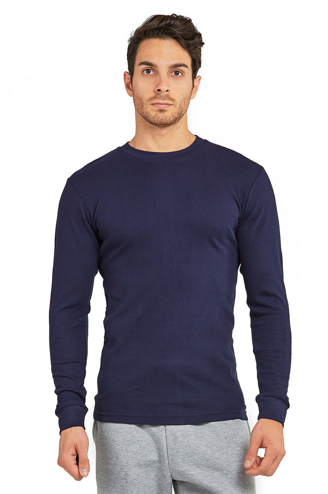 Load image into Gallery viewer, TOP PRO MEN'S HEAVY THERMAL (KHT001_NAVY)