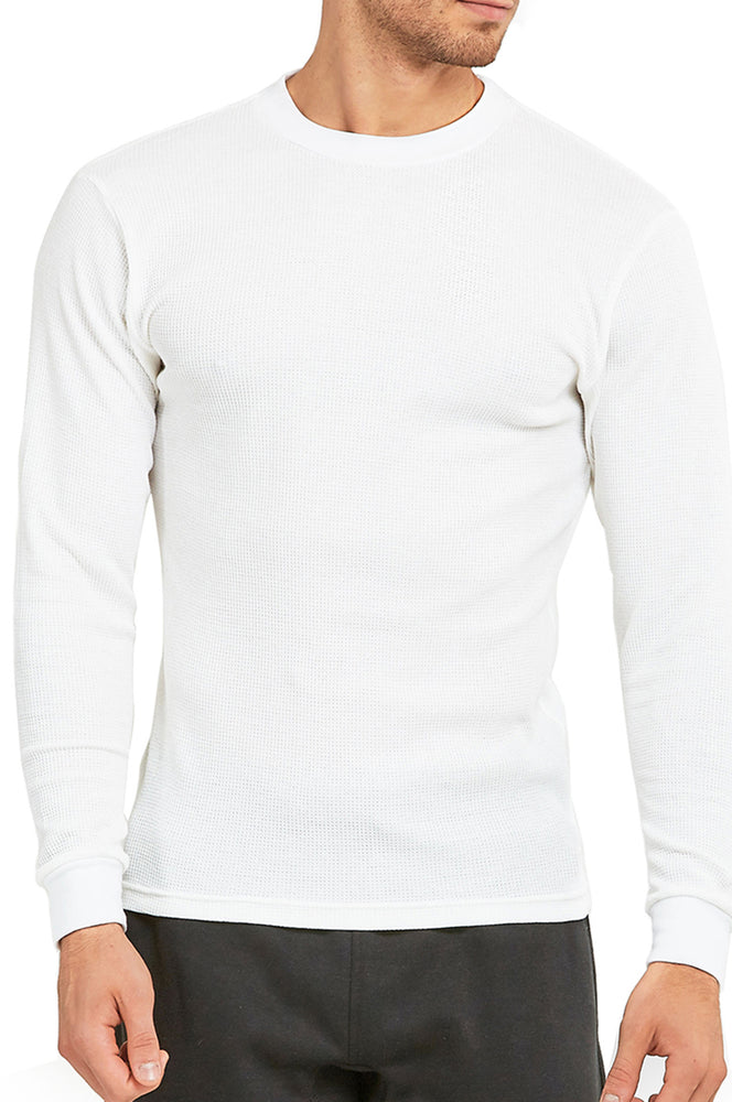 Load image into Gallery viewer, TOP PRO MEN'S HEAVY THERMAL (KHT001_WHITE)