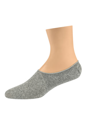 Load image into Gallery viewer, LIBERO MEN'S INVISIBLE LINER SOCKS (LBL201_GREY)