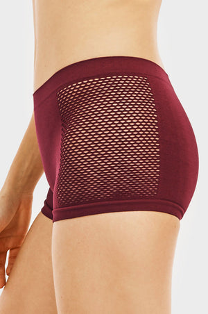 MAMIA LADIES SEAMLESS BOYSHORT PANTY (LP0234SB1) - BOX ONLY