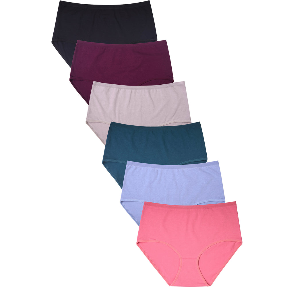 MAMIA LADIES COTTON BRIEF PLUS PANTY (LP1450CRX2) - BOX ONLY