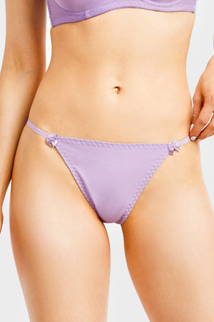 SOFRA LADIES COTTON THONG PANTY (LP1455CT)
