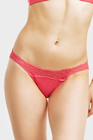 MAMIA LADIES RAYON THONG PANTY (LP3402RT)
