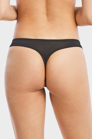 Load image into Gallery viewer, SOFRA LADIES LACE THONG PANTY (LP7305PT) - BOX ONLY