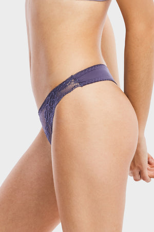 SOFRA LADIES LACE THONG PANTY (LP7305PT) - BOX ONLY