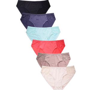 SOFRA LADIES BIKINI PANTY (LP7587PK)-BOX ONLY