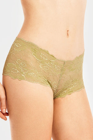 SOFRA LADIES LACE HIPSTER PANTY (LP7970LH1) - BOX ONLY