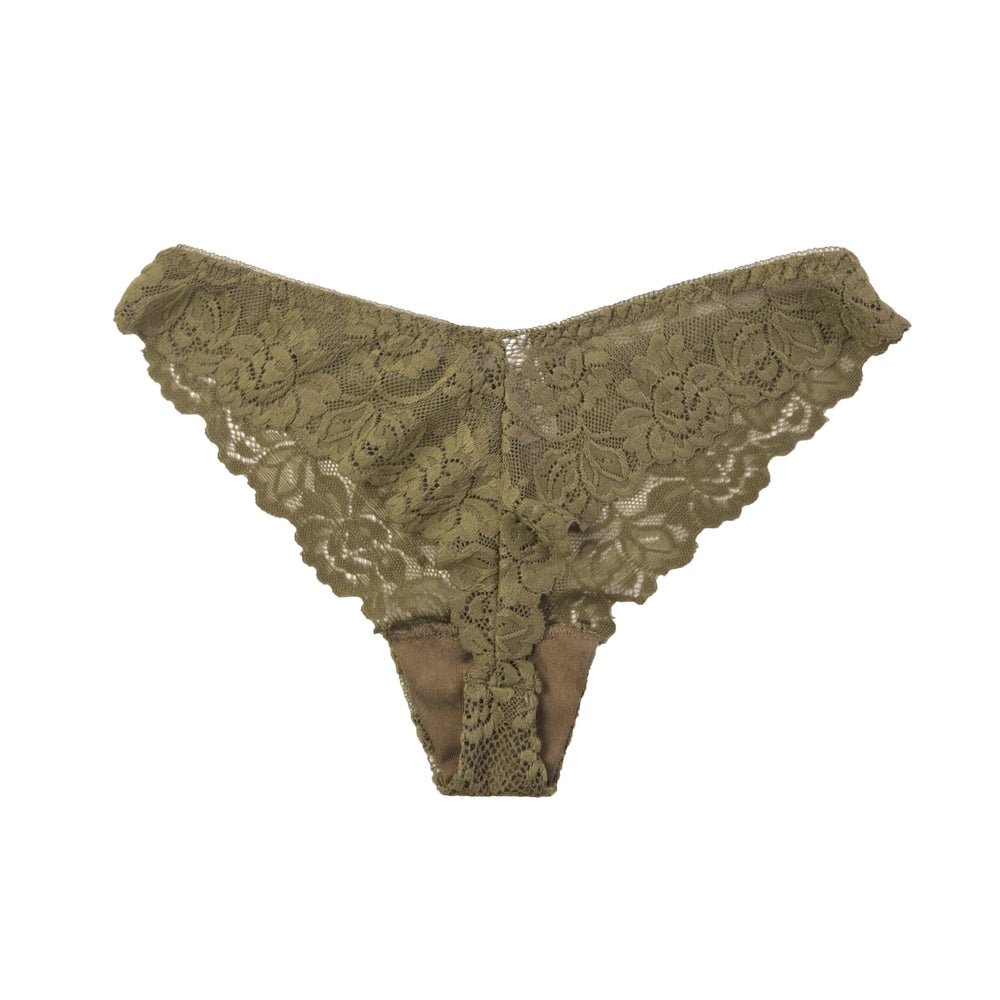 SOFRA LADIES LACE THONG PANTY (LP7983LT2) - BOX ONLY