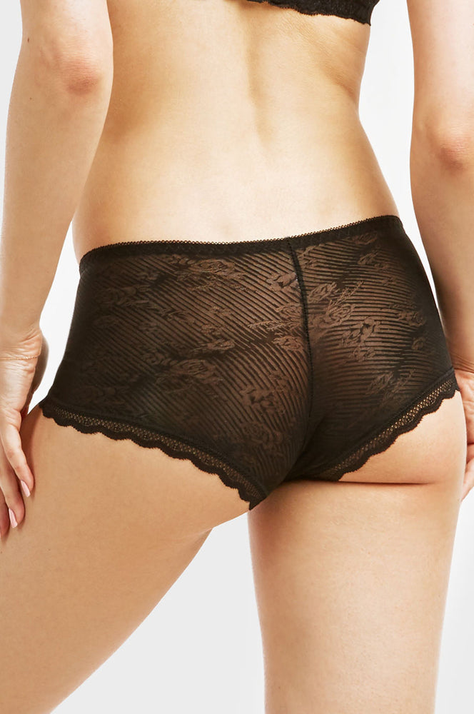 SOFRA LADIES LACE HIPSTER PANTY (LP9032LH)