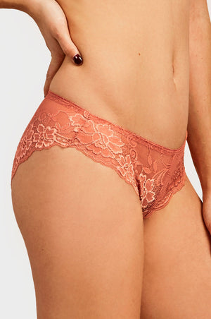 SOFRA LADIES LACE BIKINI PANTY (LP9042LK) - BOX ONLY