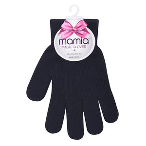 MAMIA LADIES MAGIC GLOVES (MG100_L-BLACK)