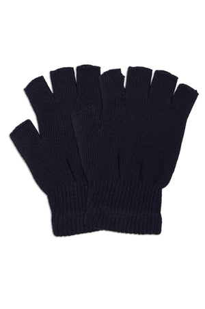 Load image into Gallery viewer, POWER CLUB MEN'S POLY MAGIC GLOVES FINGERLESS (MG100_BLACKH)