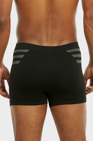 SPAK MEN'S SEAMLESS BOXER BRIEFS (MSP019)