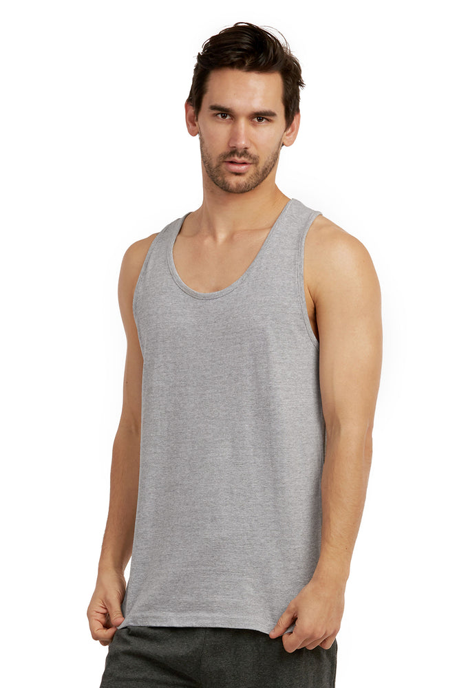 Load image into Gallery viewer, COTTONBELL MEN'S HEAVY TANK TOP (MT200C_H.GRY)