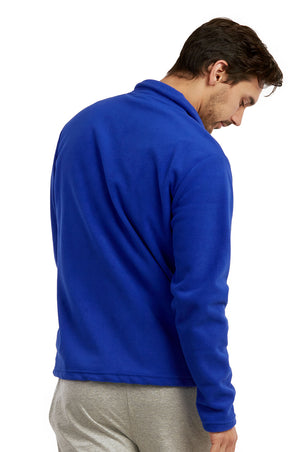 ET TU MEN'S POLAR FLEECE JACKET (PF2000E_R.BLUE)
