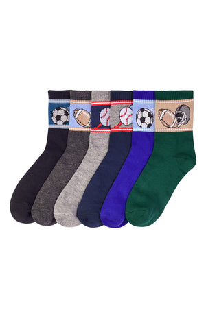 PODE BOY'S DESIGN CREW SOCKS (BALL)