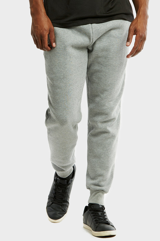 Load image into Gallery viewer, KNOCKER MEN'S H.W SLIM FIT FLEECE JOGGER PANTS (SP1100S_H.GRY)
