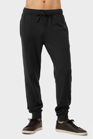 Load image into Gallery viewer, KNOCKER MEN'S TERRY JOGGERS (SP3100_BLACK)