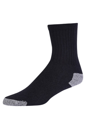Load image into Gallery viewer, SPAK  CREW SPORTS SOCKS (SPK274_B-GHT)
