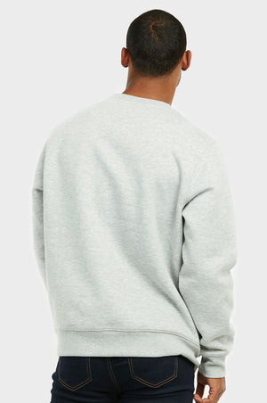 KNOCKER MEN'S SWEATSHIRT (SWS1000_H.GRY)