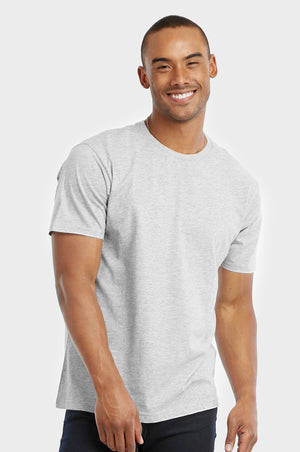 COTTONBELL MEN'S CREW NECK T-SHIRT (TR500C_GR-H)