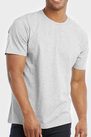 TOP PRO MEN'S CREW NECK T-SHIRT (TR500_GR/H)
