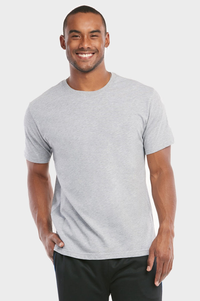 KNOCKER MEN'S CREW NECK T-SHIRT (TR700_H.GRY)