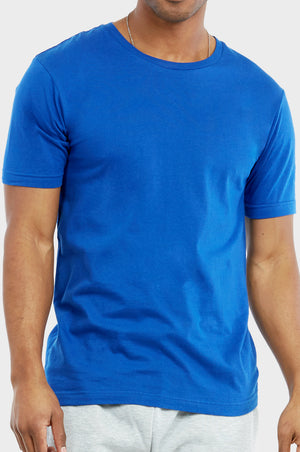 Load image into Gallery viewer, KNOCKER MEN'S CREW NECK T-SHIRT (TR700_R.BLUE)