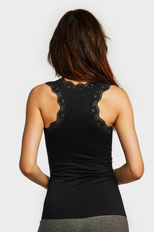 SOFRA LADIES LACE TANK TOP (TT600)