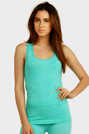 Load image into Gallery viewer, SOFRA LADIES SPACE DYE TANK TOP (TT811)