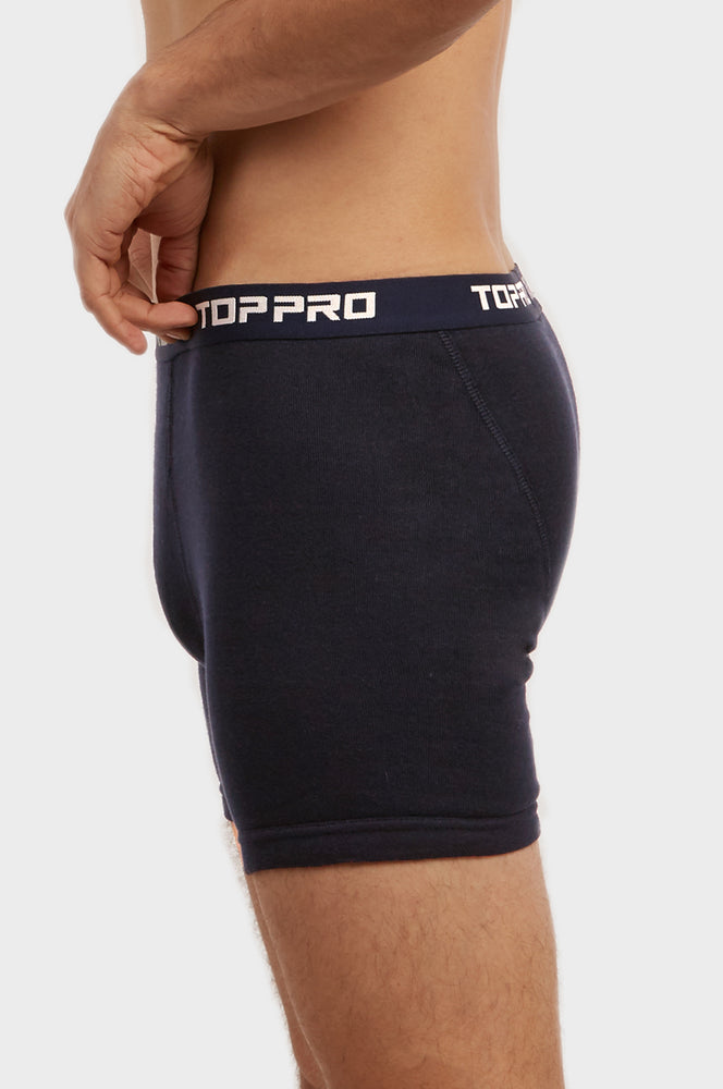 Load image into Gallery viewer, TOP PRO MEN'S CLASSIC BOXER BRIEFS (TUB100_NAVY)