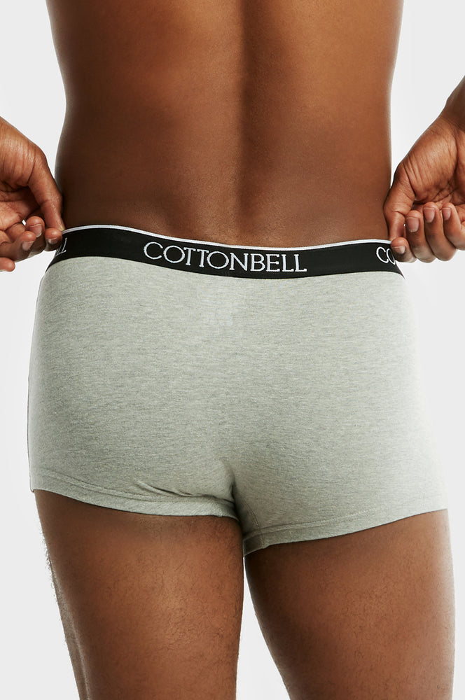 Load image into Gallery viewer, COTTONBELL MEN'S CLASSIC BOXER TRUNKS (TUB200C_GR-H)