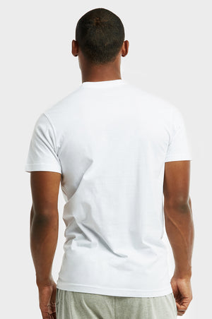 Load image into Gallery viewer, COTTONBELL MEN'S ROUND NECK T-SHIRT (TUT100C_WHITE)
