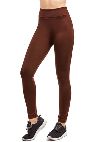 ET TU LADIES SEAMLESS FLEECE LEGGINGS (TX300E)
