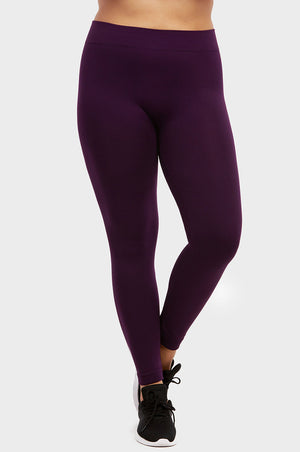 Load image into Gallery viewer, ET TU SEAMLESS FLEECE TIGHTS PLUS SIZE (TX300XE)