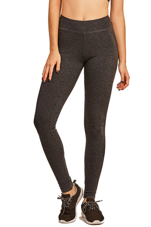 Load image into Gallery viewer, SOFRA LADIES COTTON LEGGINGS (WP4000_D.GREY)