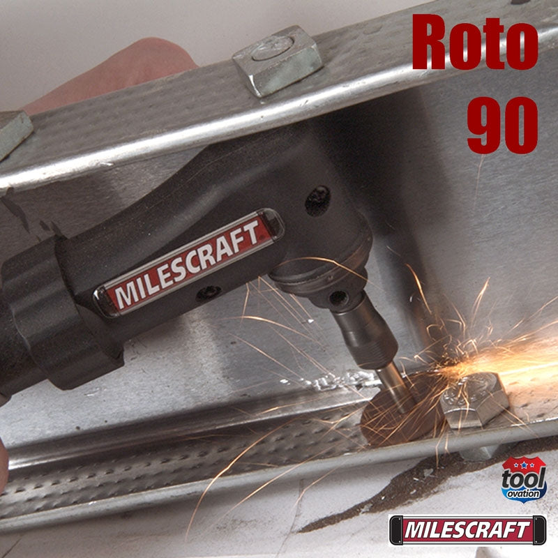 1008 Milescraft Roto 90 example application