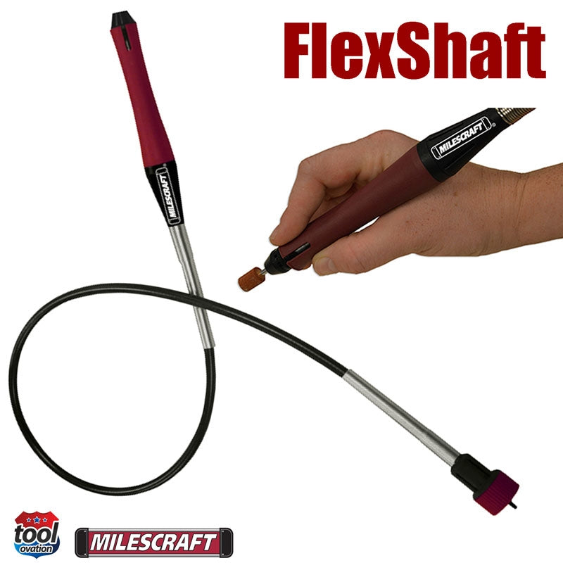 1010 Milescraft Flex Shaft XT for rotary tools