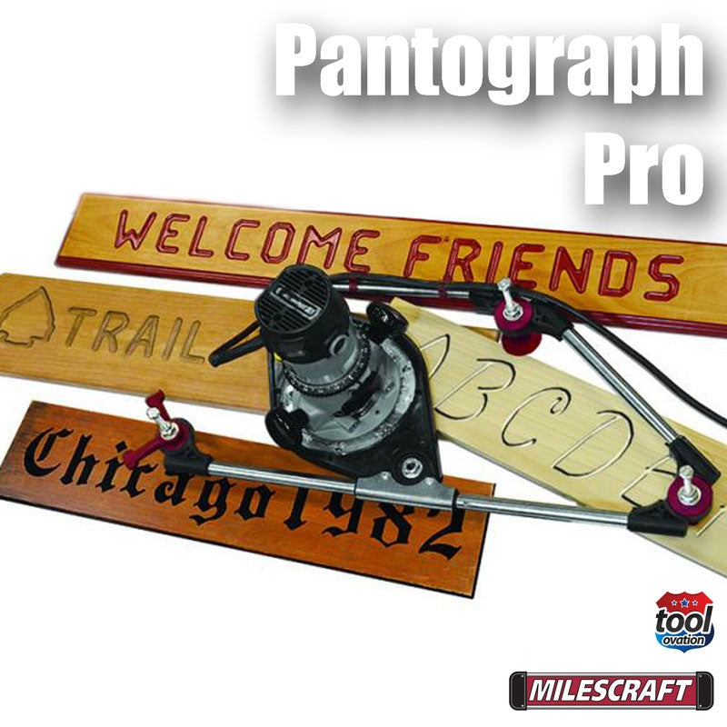 1221 Milescraft Pantograph Pro with example signs