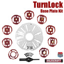 1261 Milescraft TurnLock Base Plate Kit box contents