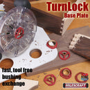 1261 Milescraft TurnLock Base Plate cutting example